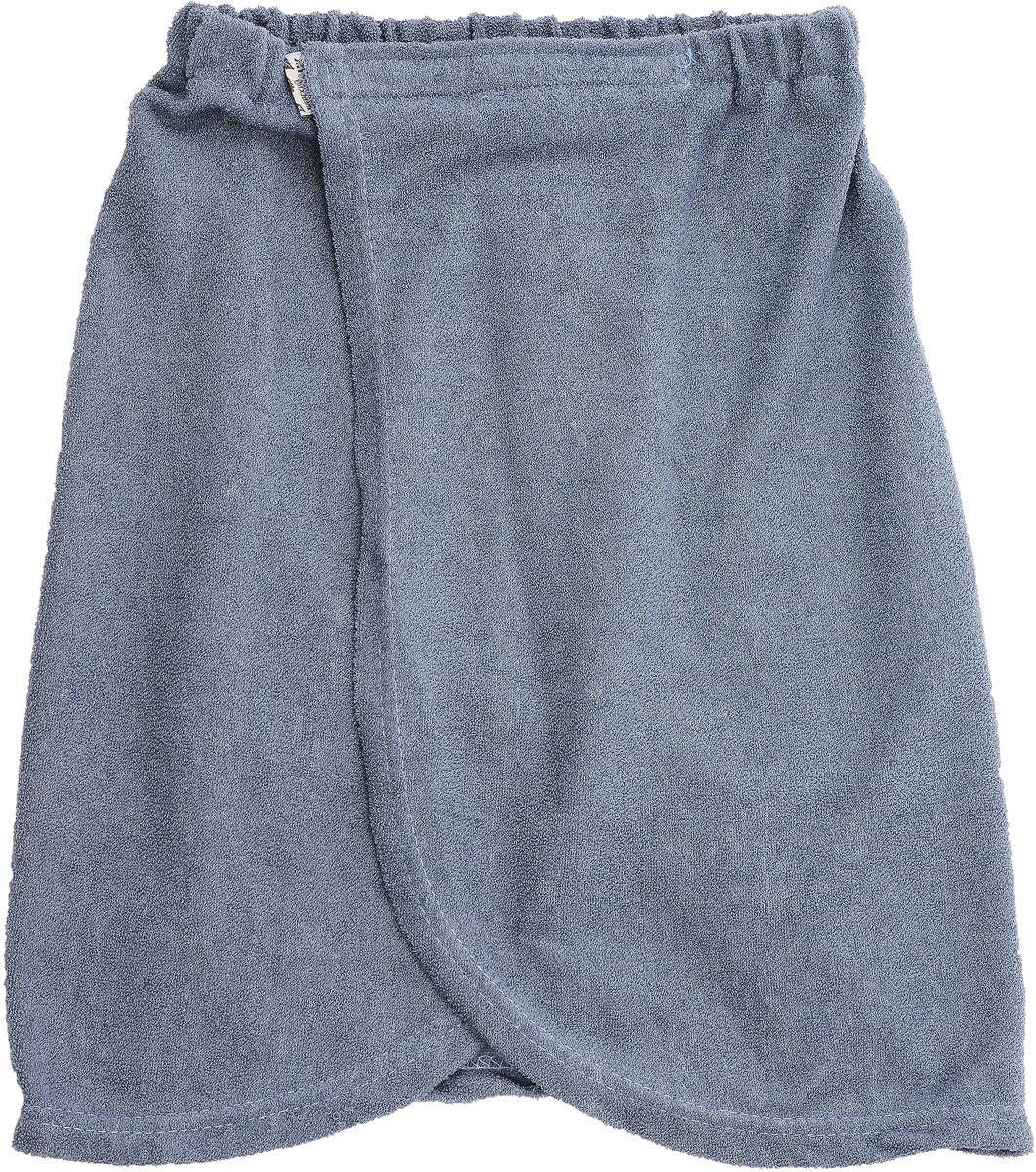 Килт для бани детский Юный банщик, цвет: серый, 41 х 60 смБ2521_серыйКилт Юный банщик изготовлен из натурально хлопка. Детский банный килт - это многофункциональная накидка специального покроя с резинкой и застежкой-липучкой. В парилке можно лежать на нем, после душа вытираться. Длина килта: 41 см. Ширина килта (по поясу): 60 см. Рекомендуемый рост: 128 - 146 см.
