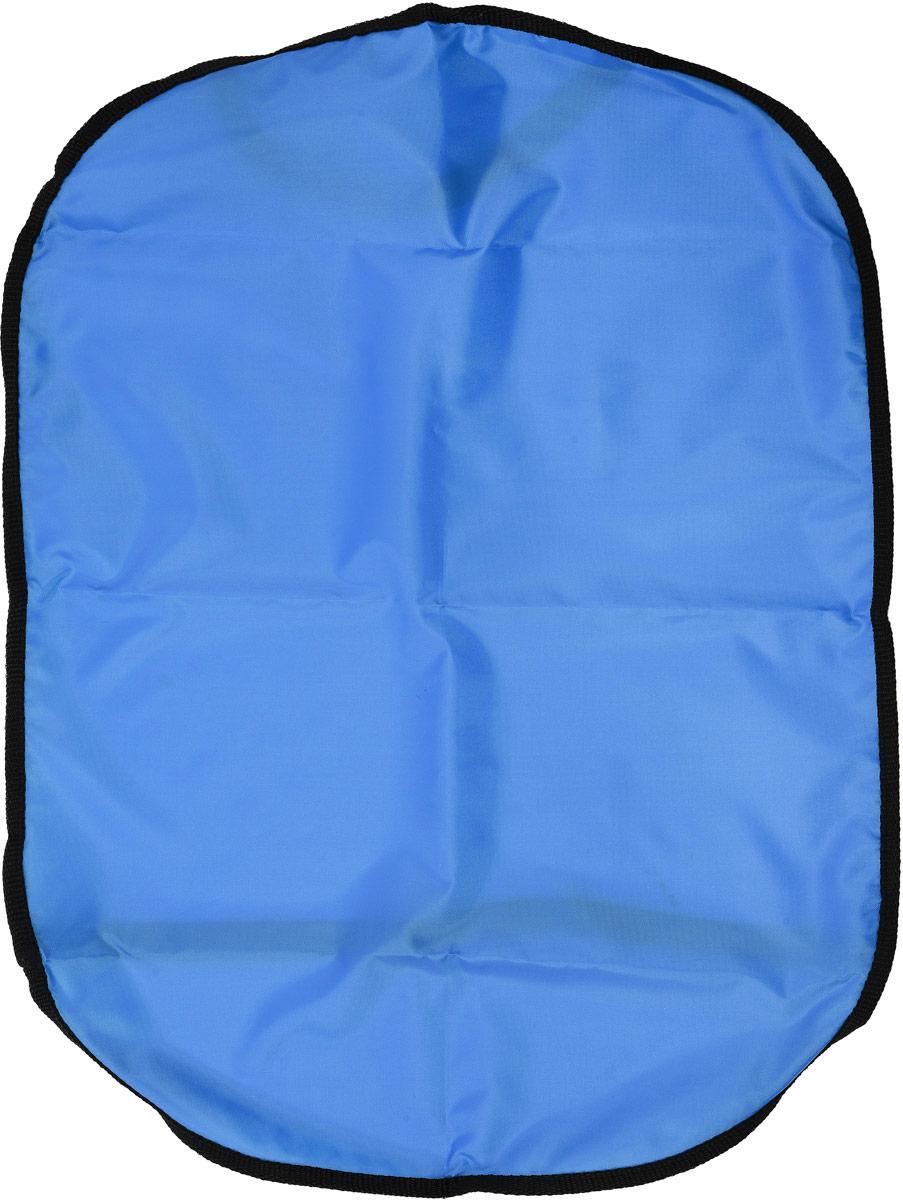 Накидка для спинки сиденья Главдор Защита от грязных ног, цвет: голубой, 61 х 45 смGL-423_голубойНакидка Главдор Защита от грязных ног защищает спинку переднего сиденья автомобиля от возможных загрязнений ногами. Выполнена из прочного ПВХ. Подходит для любого автокресла, фиксируется при помощи эластичной ленты. Накидка позволяет экономить на генеральной уборке салона. Размер накидки: 61 х 45 см.