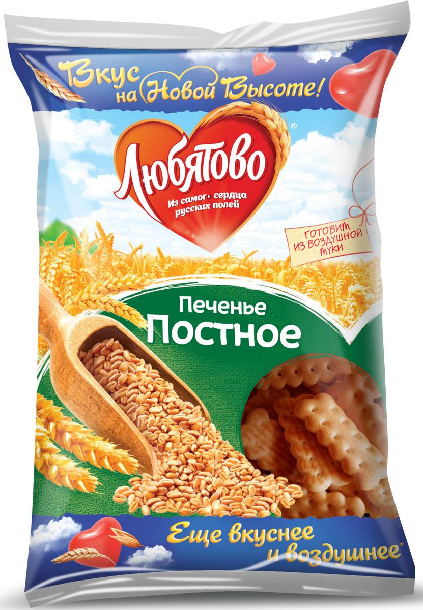 Любятово печенье постное, 300 г