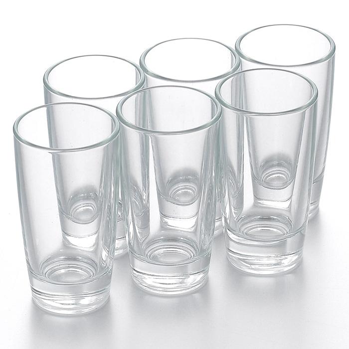 Набор стопок Luminarc Monaco, 50 мл, 6 штH5125Набор Luminarc Monaco состоит из шести стопок, выполненных из высококачественного стекла. Стопки предназначены для подачи крепких алкогольных напитков. Они сочетают в себе элегантный дизайн и функциональность. Благодаря такому набору пить напитки будет еще приятнее. Набор стопок Luminarc Monaco идеально подойдет для сервировки стола и станет отличным подарком к любому празднику. Стопки можно мыть в посудомоечной машине. Диаметр стопки по верхнему краю: 4 см. Высота стопки: 8 см. Диаметр основания стопки: 3 см.