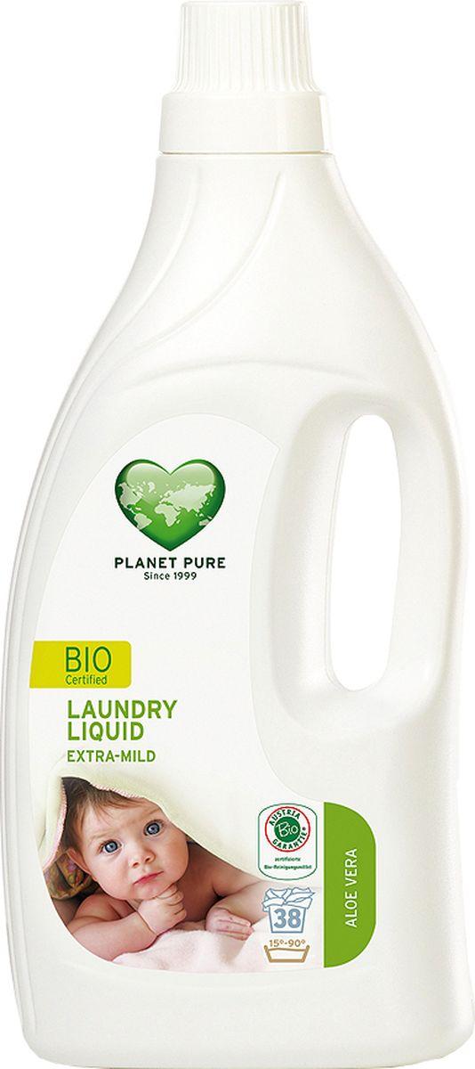 Planet Pure Средство для стирки Алоэ вера 1550 мл9120001467921BIO Средство для стирки детского белья экстра-мягкое Planet Pure АЛОЭ ВЕРА подарено нам самой природой. Мощные растительные экстракты-сапонины на основе мыльного ореха очищают ткани эффективно и мягко. Они не содержат вредных химических веществ и, таким образом, сохраняют ваше здоровье и окружающую среду. Особенности: Растительное происхождение; Проверено дерматологами; Без синтетических отдушек; Без энзимов; Без парабенов; Без ГМО; Без нефтепродуктов; Без отбеливающих реагентов; Без тестов на животных. Товар сертифицирован.