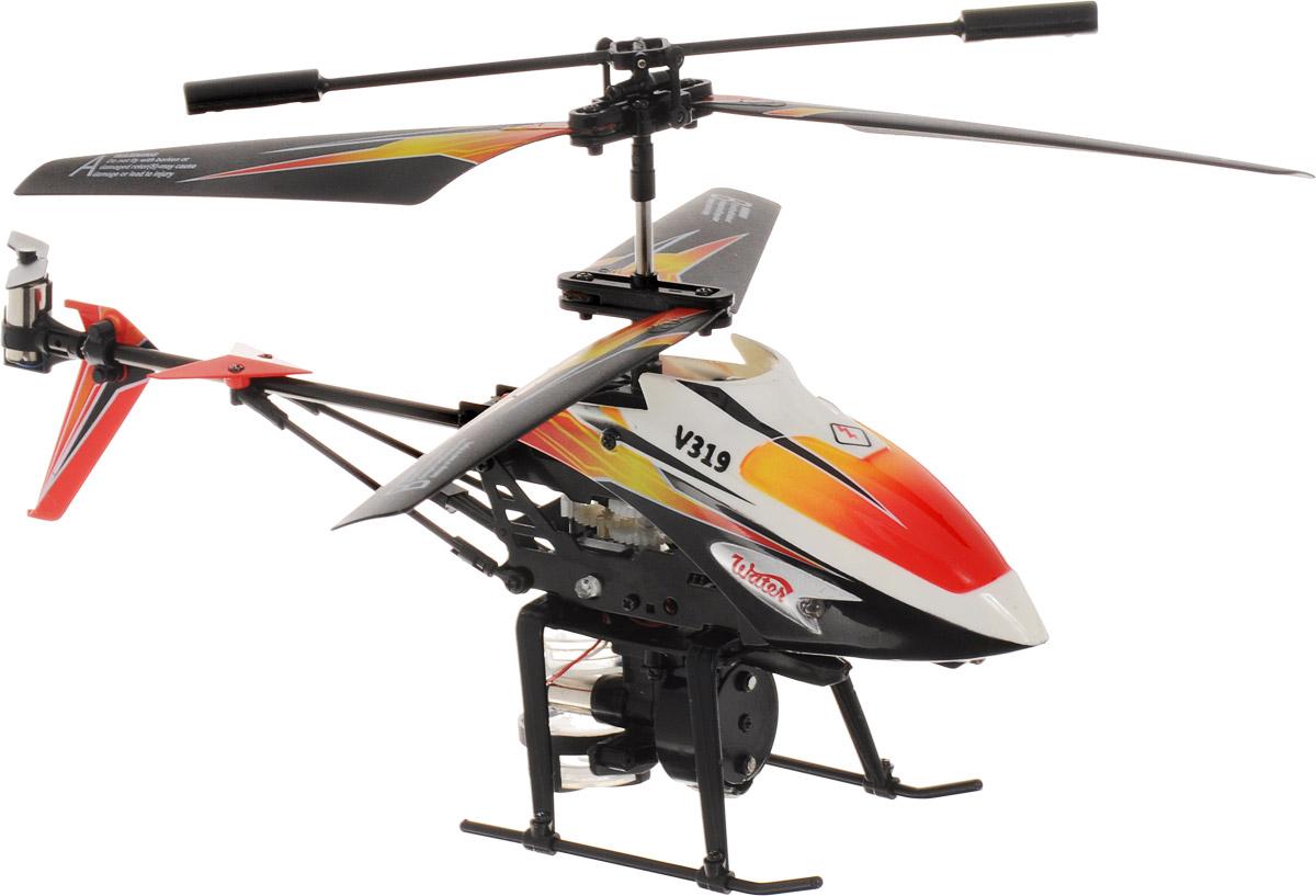 ABtoys Вертолет на инфракрасном управлении Water цвет черный белый красныйC-00105(V319)_черный, белый, красныйВертолет ABtoys Water на инфракрасном управлении со встроенным гироскопом отлично подходит для полетов в закрытых помещениях и на улице в безветренную погоду. Гироскоп предназначен для курсовой стабилизации полета. Игрушка выполнена из прочного пластика с металлическими элементами. Вертолет стабилен в воздухе и легко управляется. Пульт управления позволяет вертолету двигаться вверх-вниз, вперед-назад, влево-вправо, вращаться на 360° и зависать в воздухе. Вертолет имеет 3,5 канала управления. Вертолет обладает световыми эффектами и функцией разбрызгивания воды. Радиус действия пульта управления составляет 9 метров. Эта увлекательная игрушка понравится не только детям, но и взрослым, и подарит вам множество счастливых мгновений. Игрушка великолепно развивает важные навыки, такие как мышление, наблюдательность, зрительно-моторную координацию. Вертолет работает от встроенного полимерного аккумулятора напряжением 3,7V и емкостью 240 mAh. Зарядка аккумулятора может...