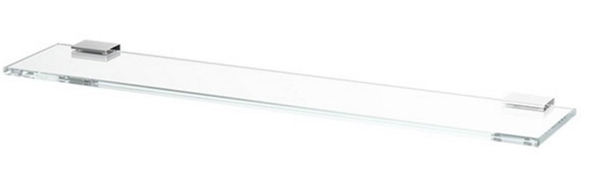 Полка для ванной Lineag Tiffany, 60 см, цвет: хром. TIF 011TIF 011В течение 20 лет компания Lineag разрабатывает и производит эксклюзивные аксессуары для ванной комнаты, используя современные технологии и высококачественные материалы. Каждый продукт Lineag произведен исключительно в Италии. Изысканный дизайн аксессуаров Lineag создает уникальную атмосферу уюта и роскоши в вашей ванной.