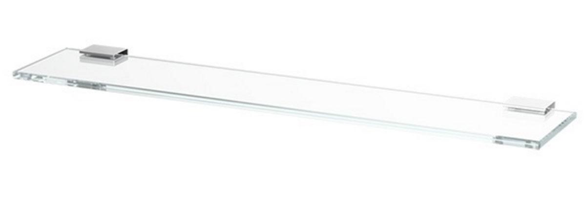 Полка для ванной Lineag Tiffany, 80 см, цвет: хром. TIF 012TIF 012В течение 20 лет компания Lineag разрабатывает и производит эксклюзивные аксессуары для ванной комнаты, используя современные технологии и высококачественные материалы. Каждый продукт Lineag произведен исключительно в Италии. Изысканный дизайн аксессуаров Lineag создает уникальную атмосферу уюта и роскоши в вашей ванной.