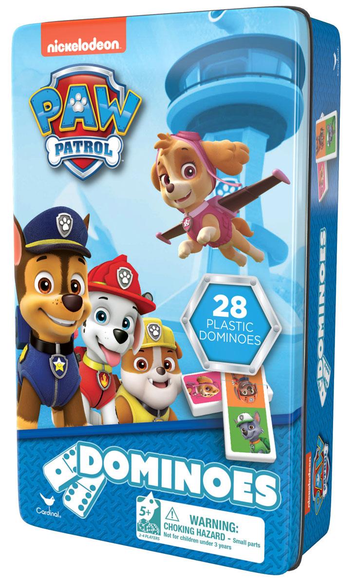 Paw Patrol Домино Щенячий Патруль6033087Настольная игра домино Щенячий Патруль, 28 пластиковых фишек.