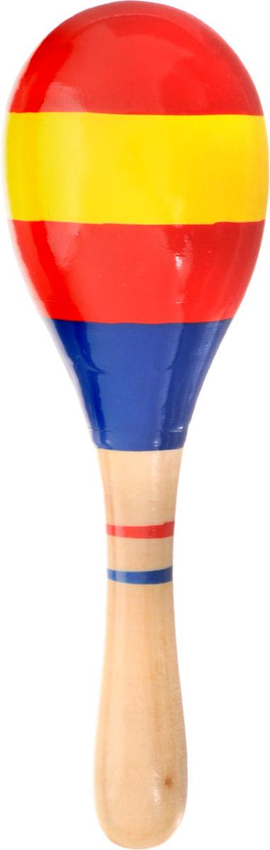 Мир деревянных игрушек Маракас Полоски цвет красный желтый синийД209_красный, желтый, синийЯркий маракас Мир деревянных игрушек Полоски может выступать в качестве погремушки, а также он прекрасно подойдет для занятий музыкальным творчеством. При потряхивании маракас издает характерный гремящий звук. Маракас изготовлен из высококачественного натурального дерева. Игрушка помогает малышам развить чувство ритма, творческое мышление и воображение, а также способствует самовыражению.