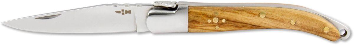 Нож складной Ножемир Чёткий расклад, общая длина 14 см. C-170C-170Бренд: Ножемир длина клинка, мм: 59 толщина клинка, мм: 2,4 общая длина, мм: 140 материал рукояти: стабилизированное дерево сталь: 40Х13 твёрдость стали, HRC: 55 — 56 особенность: зеркальная полировка