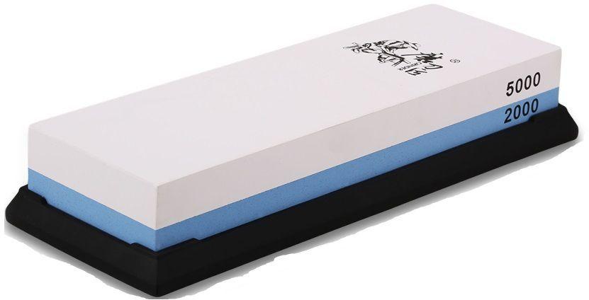 Водный камень (корунд) Ножемир, двухсторонний, доводочный 2000 / 5000 грит. T0930W