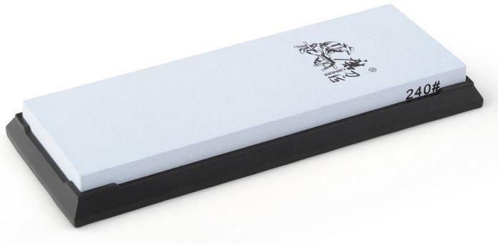 Точильный камень Ножемир Taidea, двусторонний, зернистость 240 грит. T7024WT7024Wполное название: точильный камень двусторонний бренд: Taidea зернистость, грит: 240 масса, гр: 342 размер, см: 18 х 6 х 1,4 упаковка: картонная коробка размер упаковки, см: 19,5 х 7,5 х 2,5 масса в упаковке, гр: 410