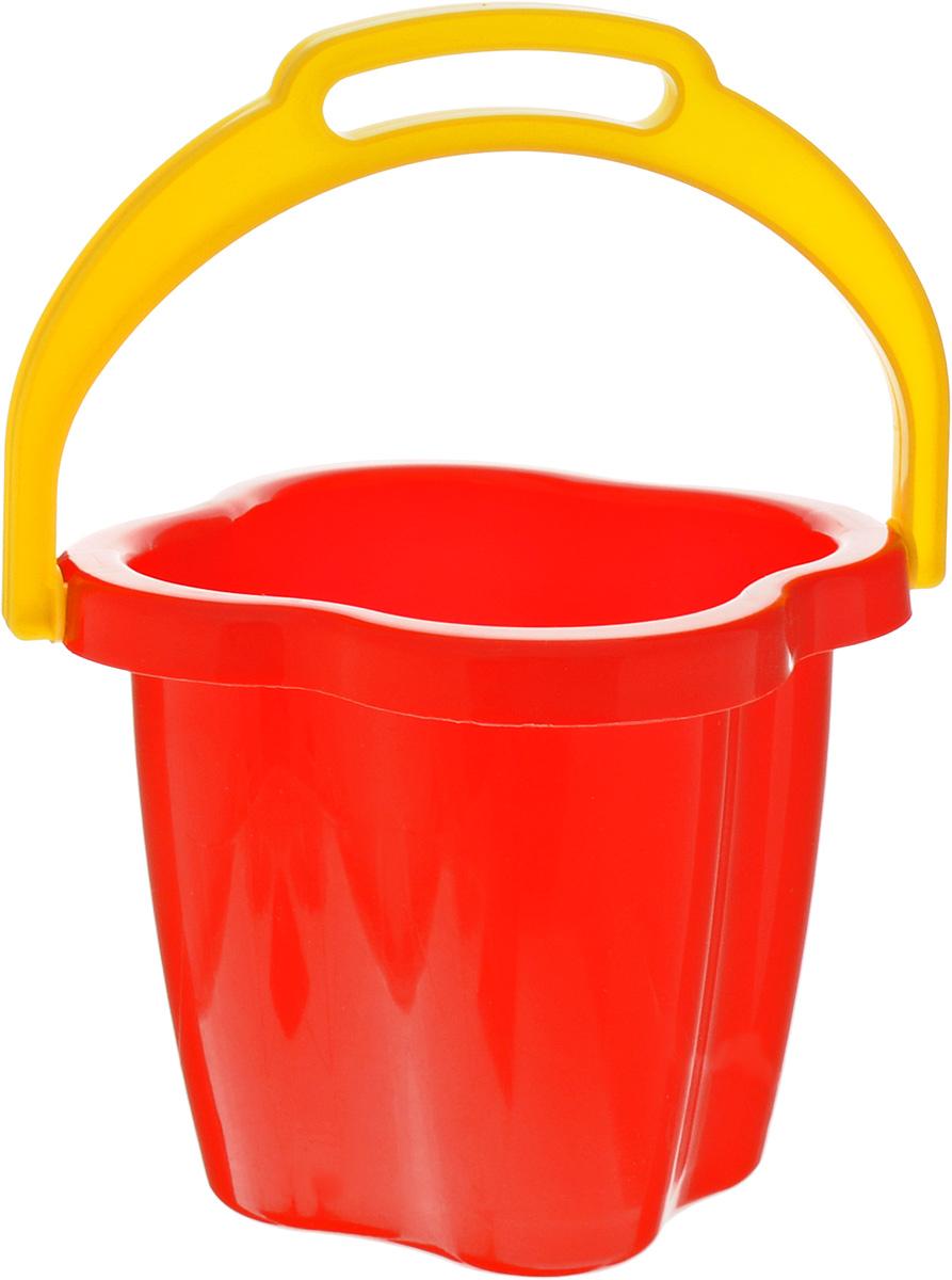Stellar Ведро-цветок цвет красный 1 л1249_красныйС ярко-красным ведром Stellar, напоминающим по форме цветочек, играть в песочнице станет еще веселее. Объем ведерка один литр, в него может поместиться немало песка, необходимого для строительства оборонительных сооружений или песчаного замка. Ведро изготовлено из высококачественного и прочного материала.
