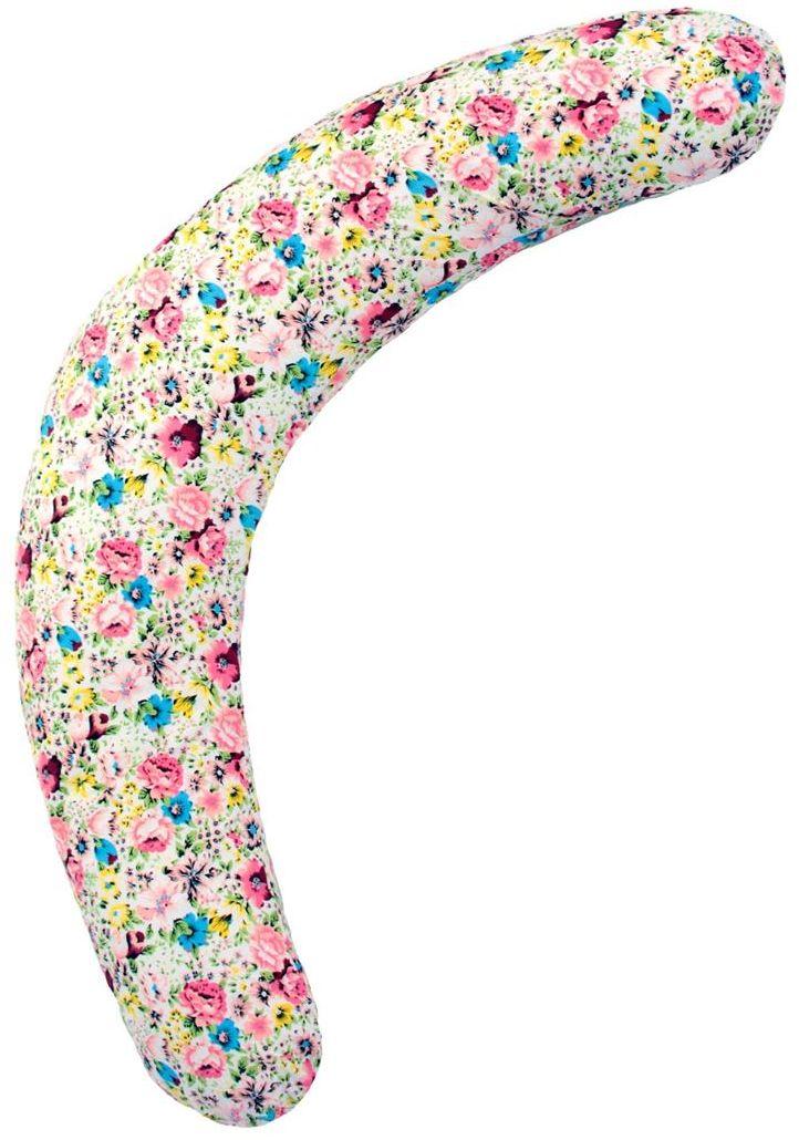 Mammy Size Подушка для беременных Полумесяц цвет белый цветы 180 см
