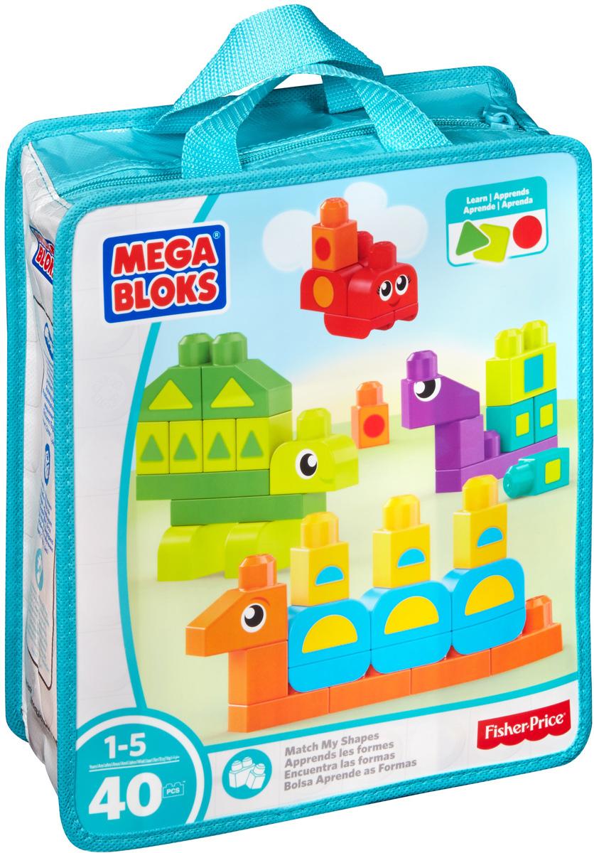 Mega Bloks Конструктор Найди фигурыDXH34Постройте дружелюбную компанию садовых животных и изучайте фигуры! Ваш юный строитель может изучить все фигуры, используя блоки. Подбирайте новую фигуру к каждому животному, используя круглые блоки, чтобы построить извивающуюся гусеницу, квадратные блоки, чтобы построить блочную улитку, треугольные блоки, чтобы построить угловатую черепаху и полукруглые блоки, чтобы построить круглую божью коровку. Находите фигуру для каждого животного и учите их различать! После завершения игры уберите игрушки в удобную сумку для хранения. Конструктор Mega Bloks Найди фигуры - идеальная игрушка для детей в возрасте от 1 года до 5 лет. Игровой набор состоит из 40 деталей для изучения различных форм. Соединяйте с другими игрушками для дошкольников от Mega Bloks и выстраивайте все, что захотите!