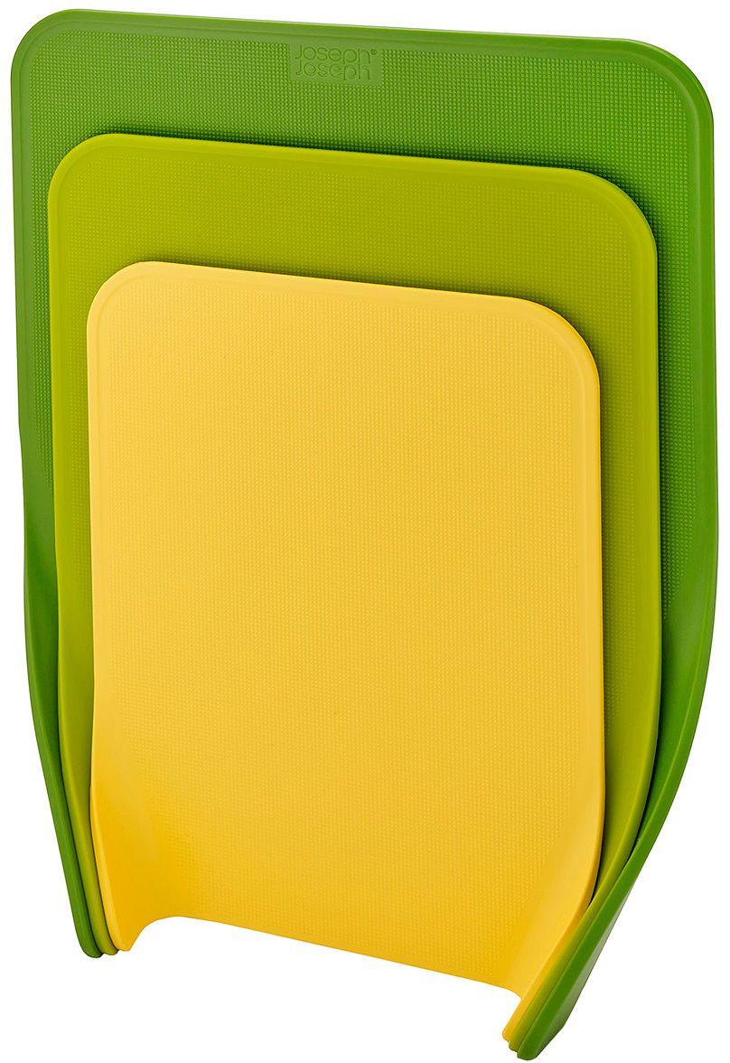 Комплект разделочных досок Joseph Joseph Nest, цвет: зеленый, 3 шт60121