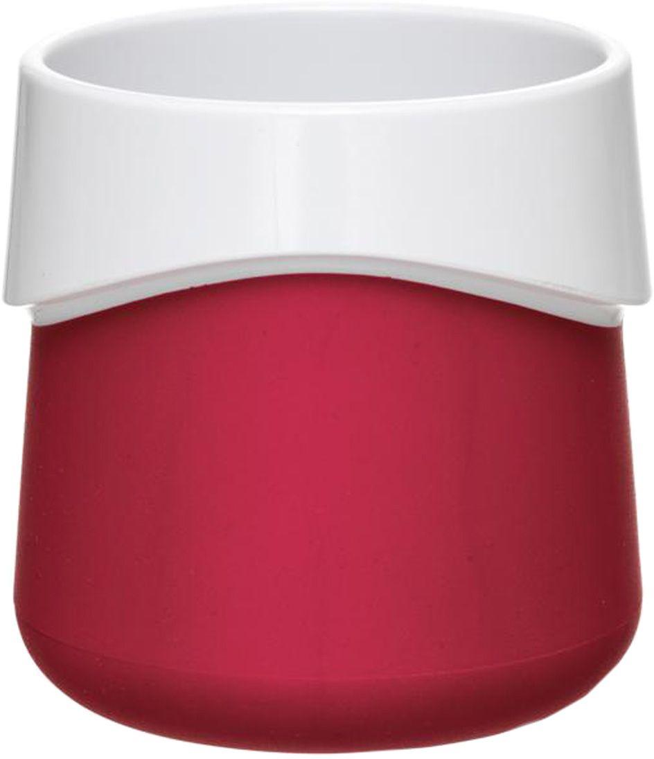 Кружка для малыша Fabrikators, цвет: красныйTDCUP-RКормление без суеты и мелких неприятностей. Кружка для малыша не скользит и надежно держится на поверхности стола благодаря дополнительному весу в нижней части. Кружку удобно захватывать за специальный ободок вокруг чашки. Посуда не содержит бисфенол-А