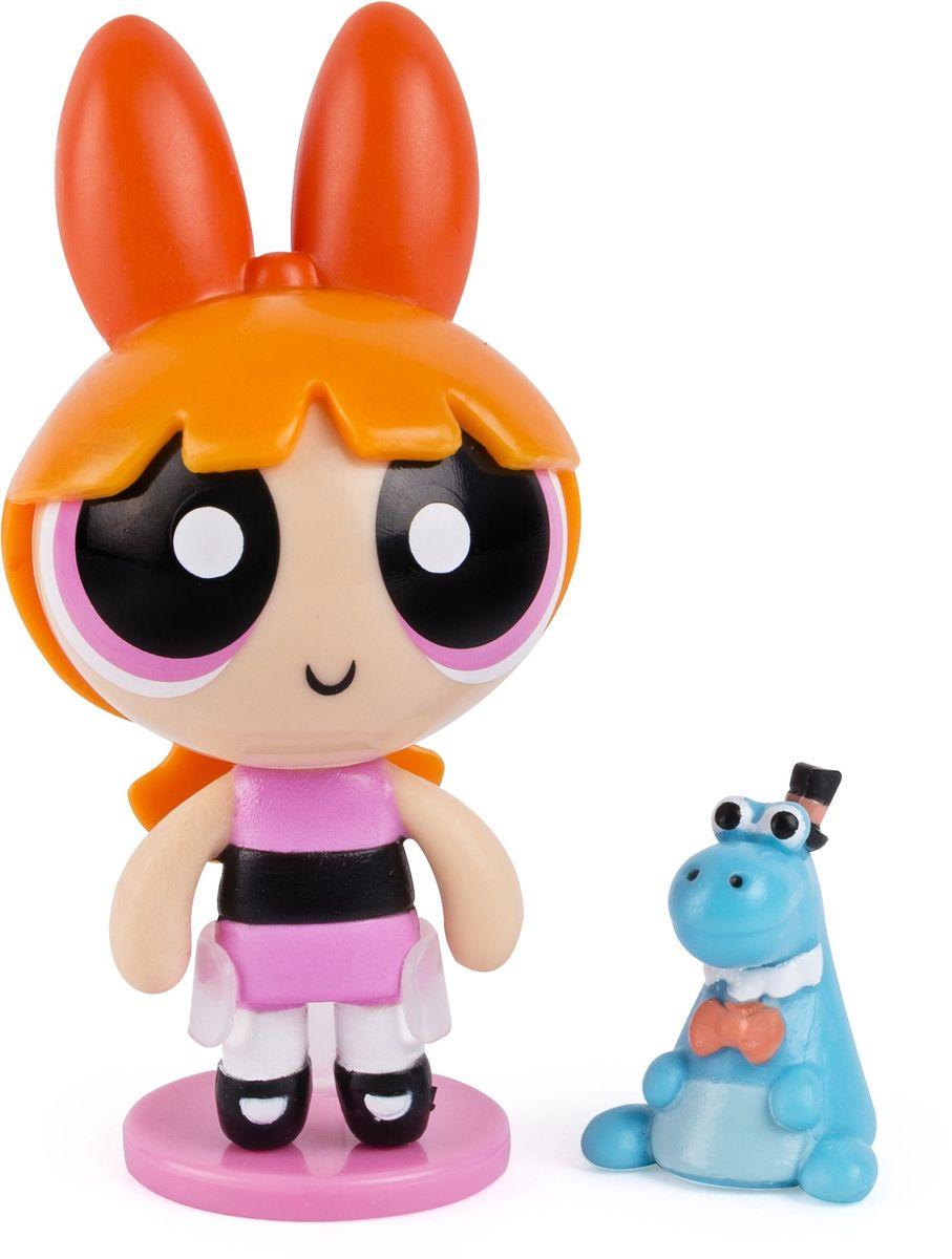 Powerpuff Girls Игровой набор с куклой Цветик с питомцем22312Игровой набор Powerpuff Girls Цветик включает куклу высотой 5 см и питомца - динозаврика.