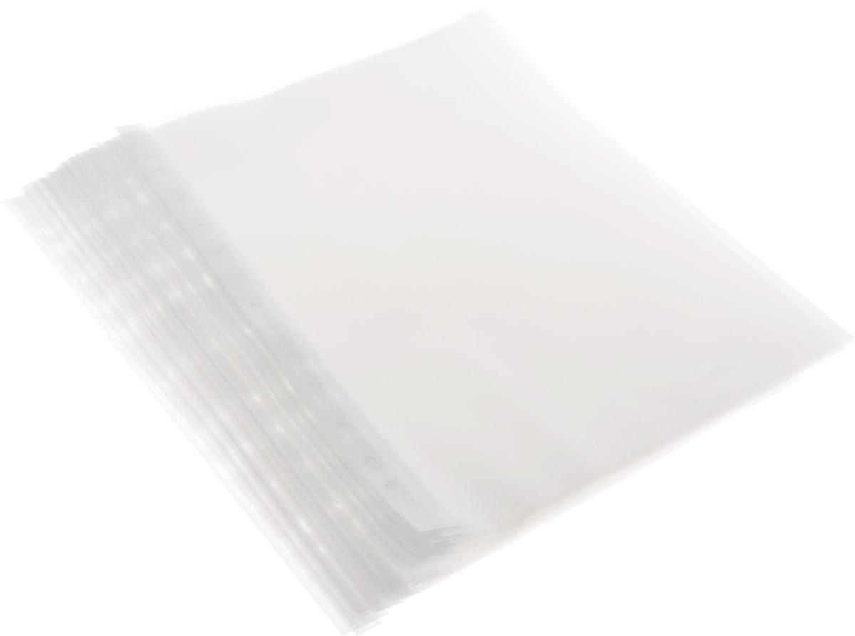Файл-вкладыш Proff, 100 шт28-3051 (A040-11-100)Файл-вкладыш Proff с европейской перфорацией позволяет хранить документы без перфорирования с возможностью подшивки в папку-регистратор. Изготовлен из плотного полипропилена. Тиснение поверхности позволяет легко и быстро открыть файл. Характеристики: Толщина пленки: 40 мкм. Размер файла: 23,5 см х 31 см. Изготовитель: Россия.