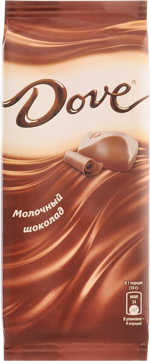 Dove молочный шоколад, 90 г