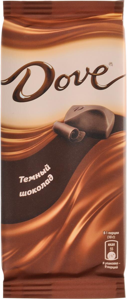 Dove темный шоколад, 90 г
