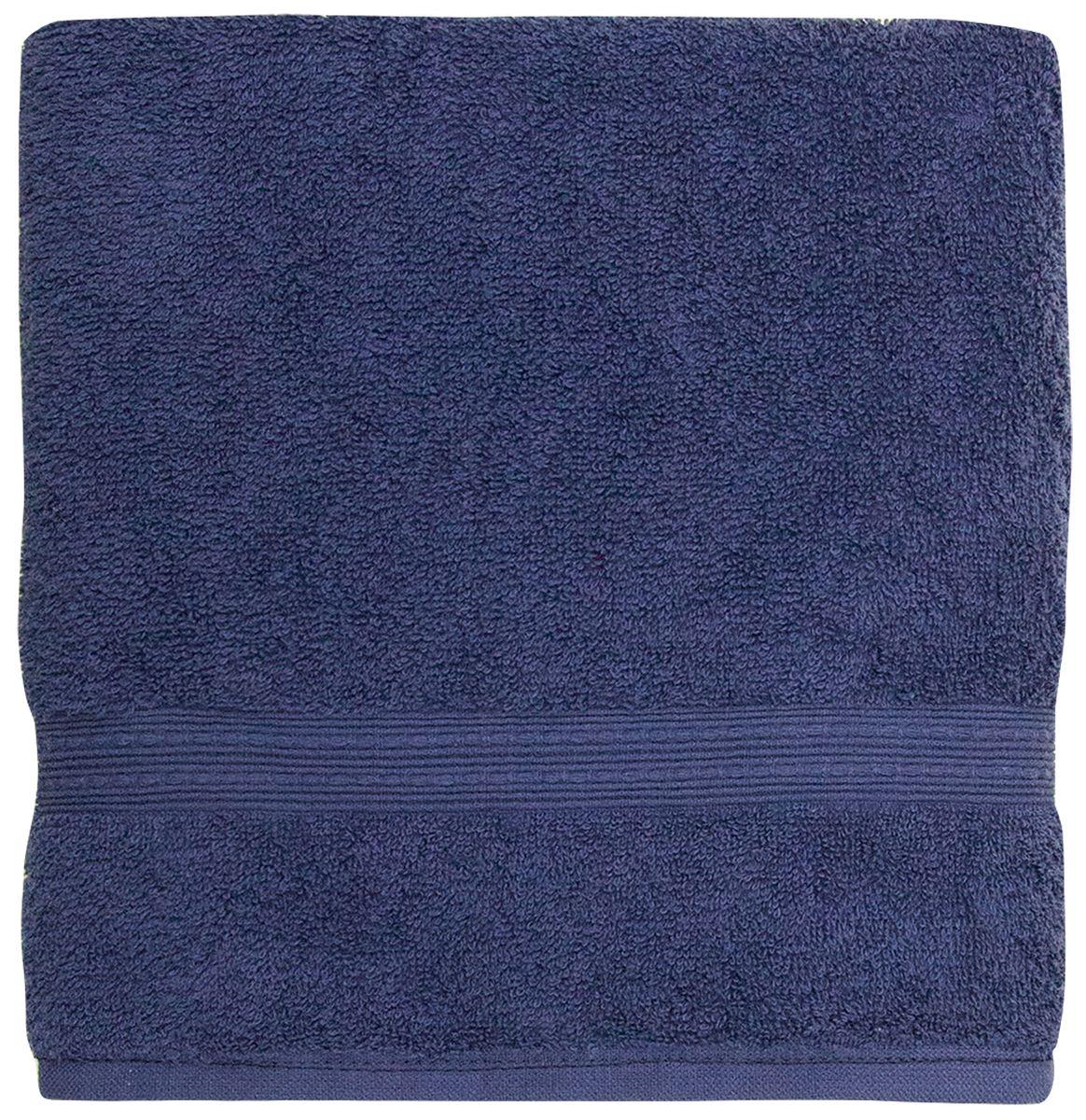Полотенце банное Bonita Classic, махровое, цвет: сапфир, 50 x 90 см1011217220Полотенце банное 50*90 Bonita Classic, махровое