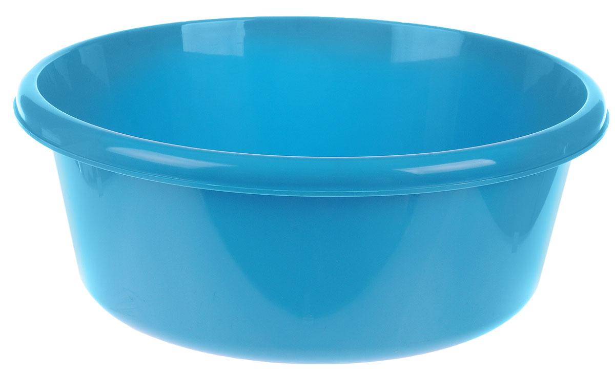 Таз Idea, круглый, цвет: бирюзовый, 14 лМ 2514Таз Idea выполнен из прочного пластика. Он предназначен для стирки и хранения разных вещей. Также в нем можно мыть фрукты. Такой таз пригодится в любом хозяйстве. Диаметр таза (по верхнему краю): 37 см. Высота стенки: 15 см.