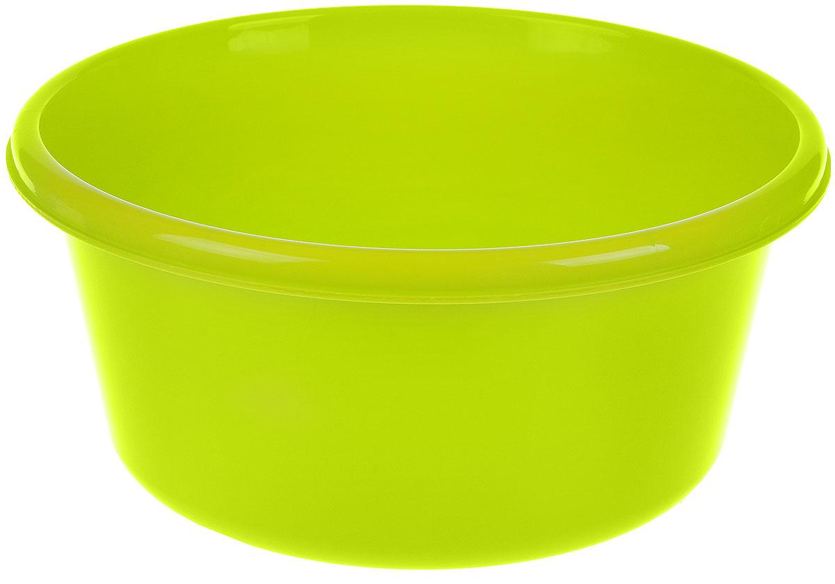 Таз Idea, круглый, цвет: салатовый, 6 лМ 2511Таз Idea выполнен из прочного пластика. Он предназначен для стирки и хранения разных вещей. Также в нем можно мыть фрукты. Такой таз пригодится в любом хозяйстве. Диаметр таза (по верхнему краю): 26,5 см. Высота стенки: 13 см.