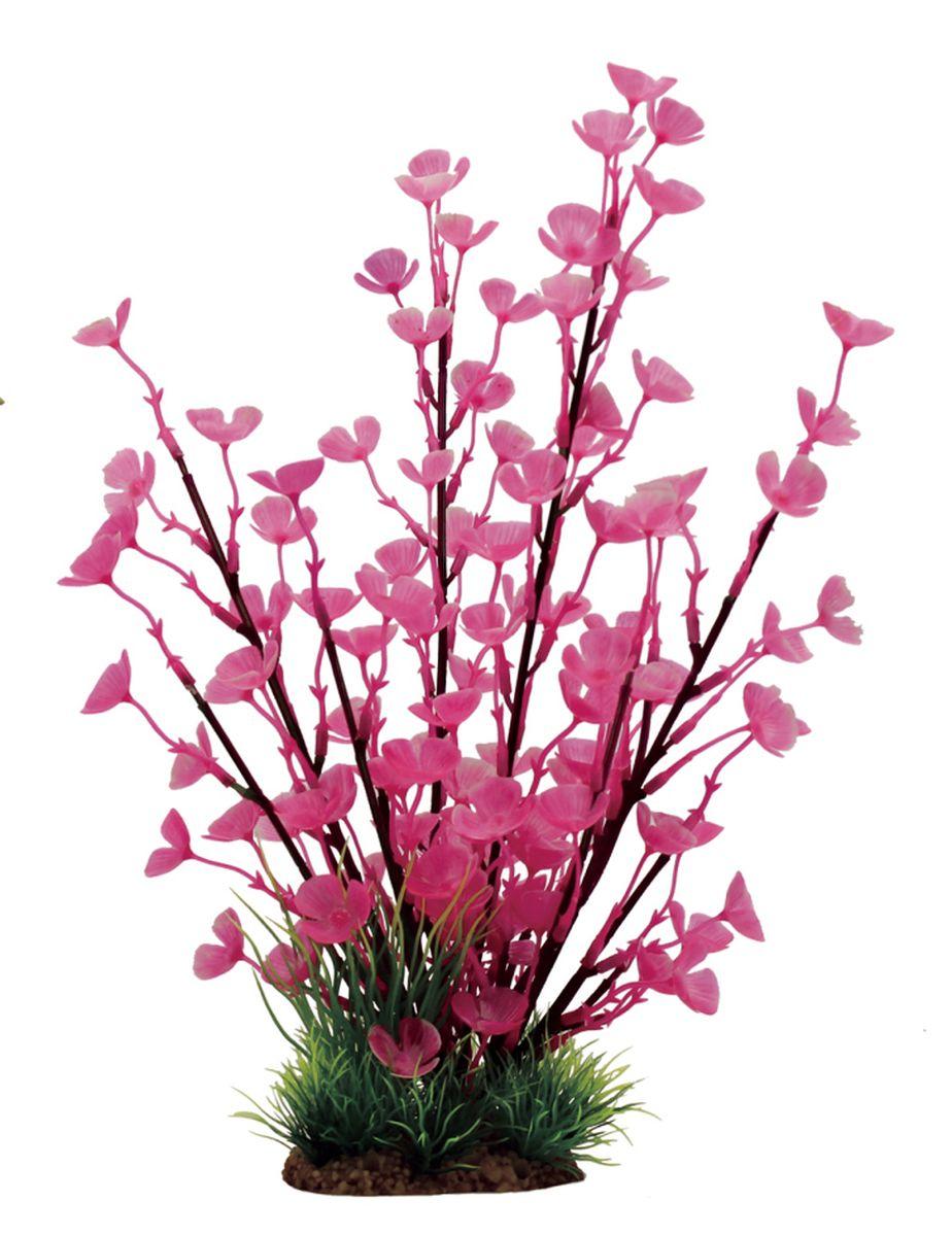 Растение для аквариума ArtUniq Марсилия розовая, высота 32 смART-1110620Растение для аквариума ArtUniq Марсилия розовая, высота 32 см