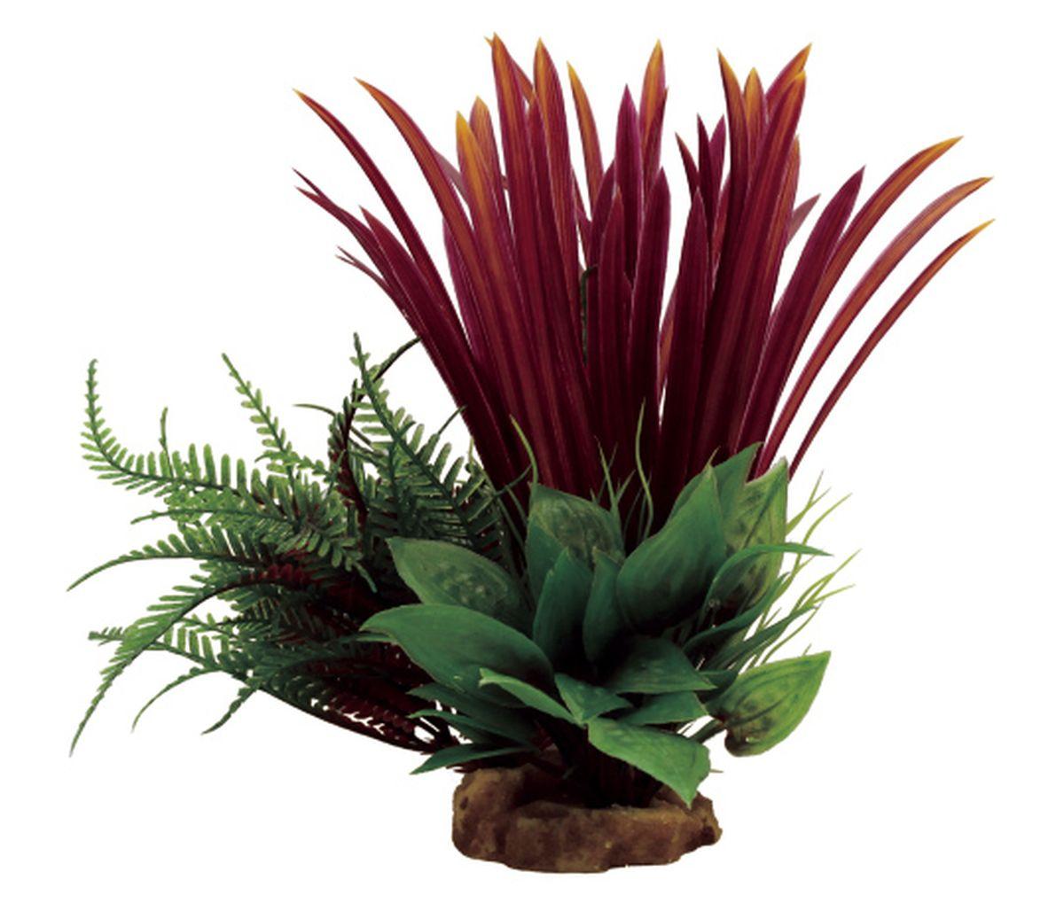 Композиция из растений для аквариума ArtUniq Бликса красная, 18 x 15 x 23 смART-1130802Композиция из растений для аквариума ArtUniq Бликса красная, 18 x 15 x 23 см