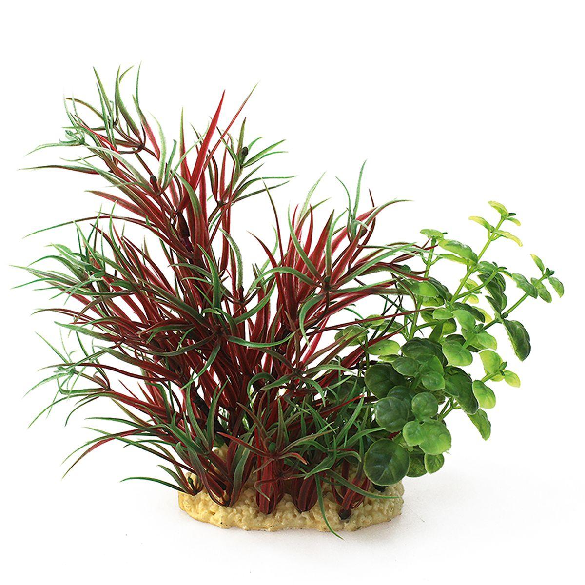 Растение для аквариума ArtUniq Лагаросифон мадагаскарский красный, высота 15 смART-1140102Растение для аквариума ArtUniq Лагаросифон мадагаскарский красный, высота 15 см