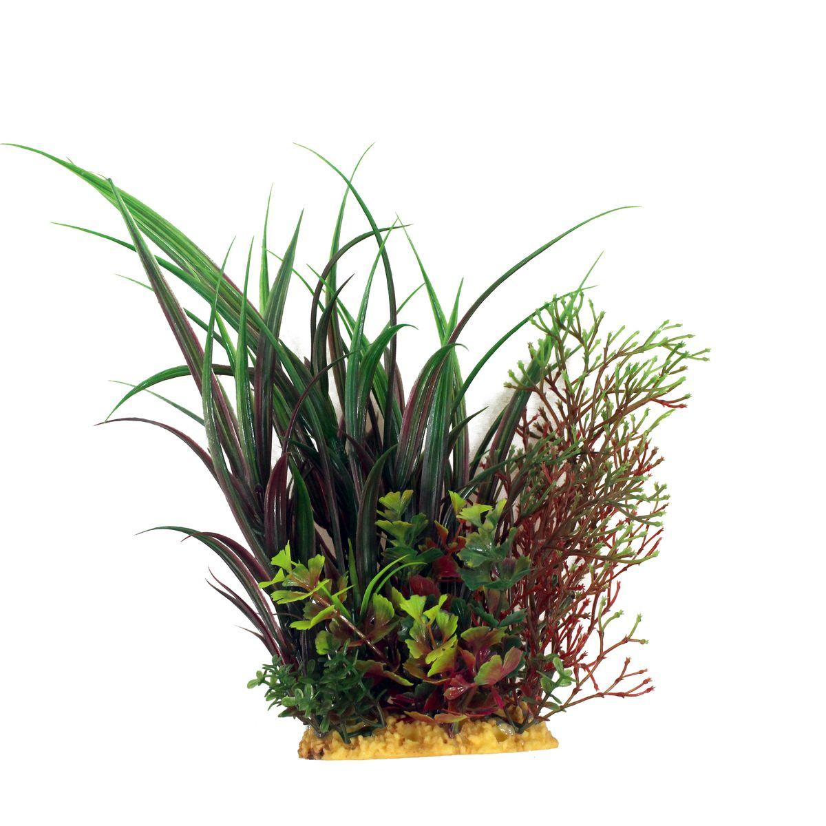Растение для аквариума ArtUniq Офиопогон, высота 20 смART-1160206Растение для аквариума ArtUniq Офиопогон, высота 20 см