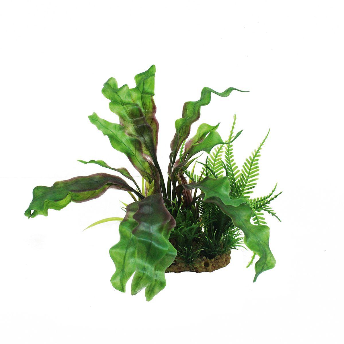 Растение для аквариума ArtUniq Апоногетон, высота 20 смART-1160210Растение для аквариума ArtUniq Апоногетон, высота 20 см