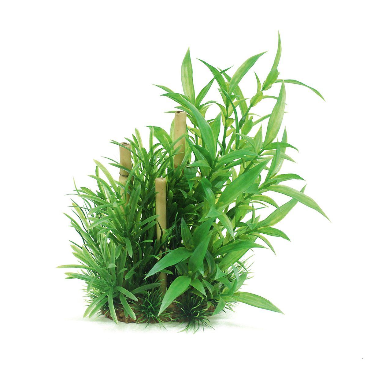 Композиция из растений для аквариума ArtUniq Гигрофила сиамская с бамбуком, высота 20 смART-1160503Композиция из растений для аквариума ArtUniq Гигрофила сиамская с бамбуком, высота 20 см