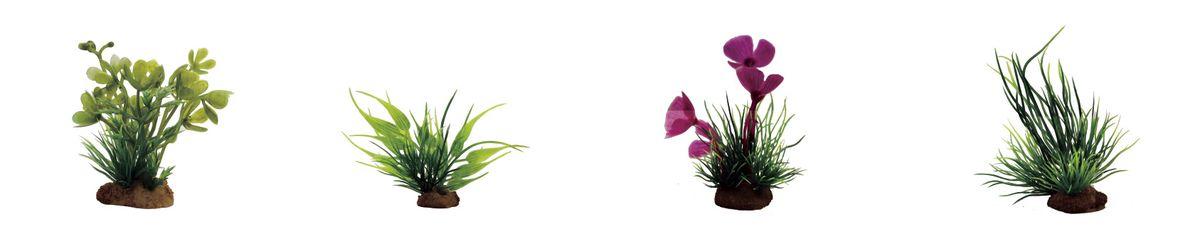 Растение для аквариума ArtUniq Марсилия, бамбук, марсилия розовая, лилеопсис, высота 7-10 см, 4 штART-1170608Растение для аквариума ArtUniq Марсилия, бамбук, марсилия розовая, лилеопсис, высота 7-10 см, 4 шт
