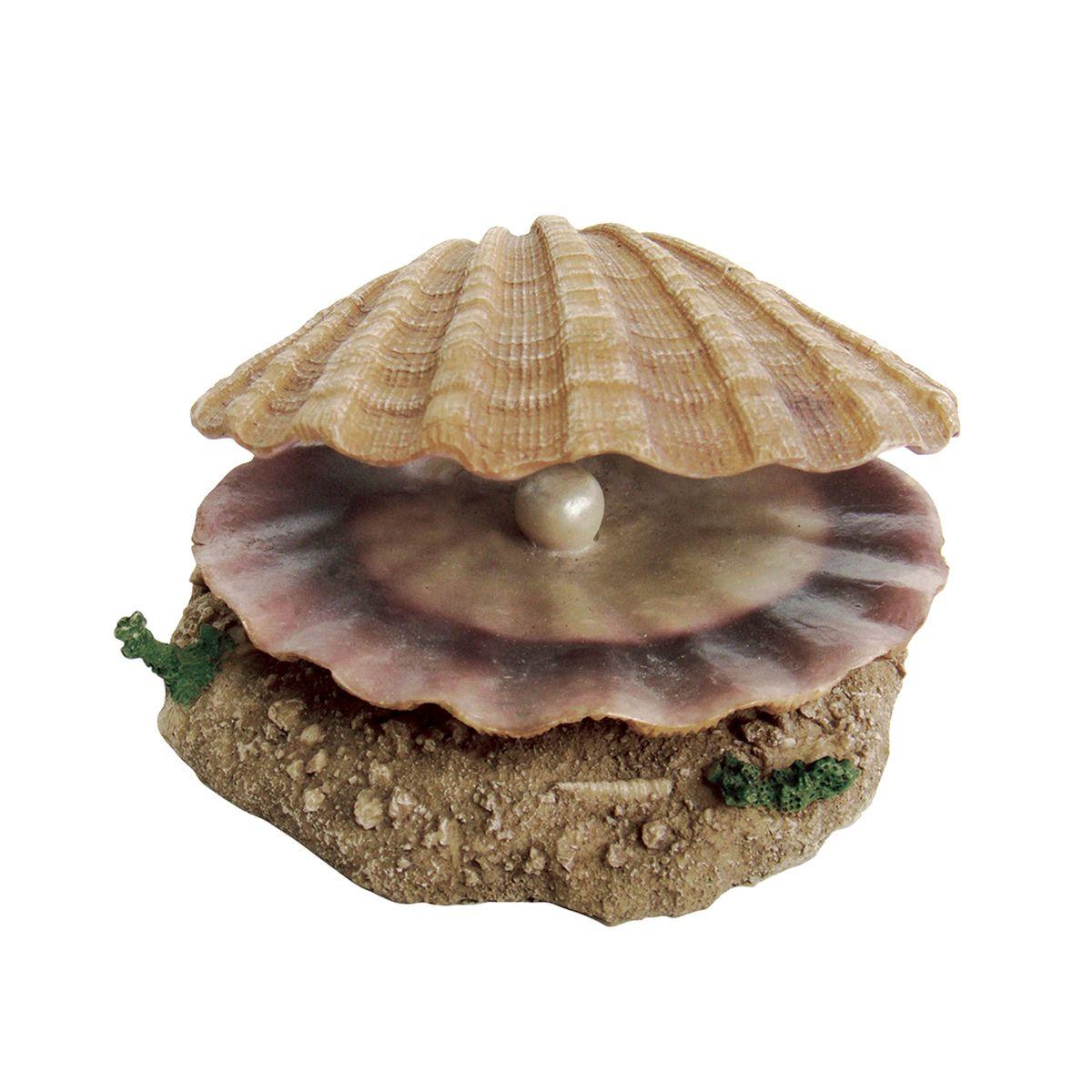 Декорация для аквариума ArtUniq Раковина с жемчужиной, с подвижным элементом, 14,5 x 13,3 x 6,5 смART-2230170Декорация для аквариума ArtUniq Раковина с жемчужиной, с подвижным элементом, 14,5 x 13,3 x 6,5 см