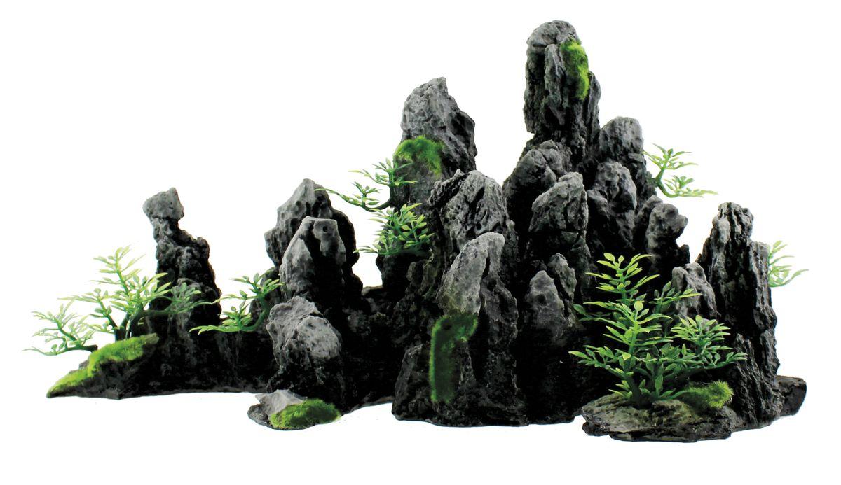 Декорация для аквариума ArtUniq Крутые серые скалы, 45 x 20,5 x 23,5 смART-3116010Декорация для аквариума ArtUniq Крутые серые скалы, 45 x 20,5 x 23,5 см