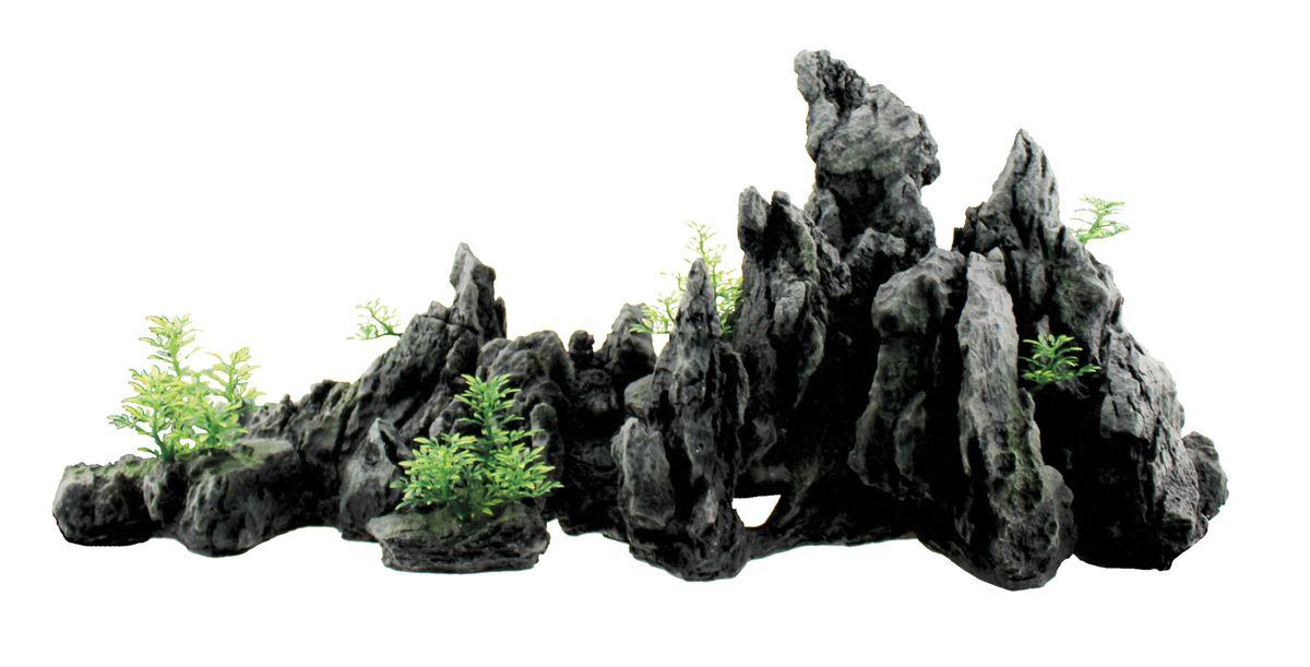 Декорация для аквариума ArtUniq Крутые серые скалы, 74,5 x 21 x 33 смART-3116020Декорация для аквариума ArtUniq Крутые серые скалы, 74,5 x 21 x 33 см