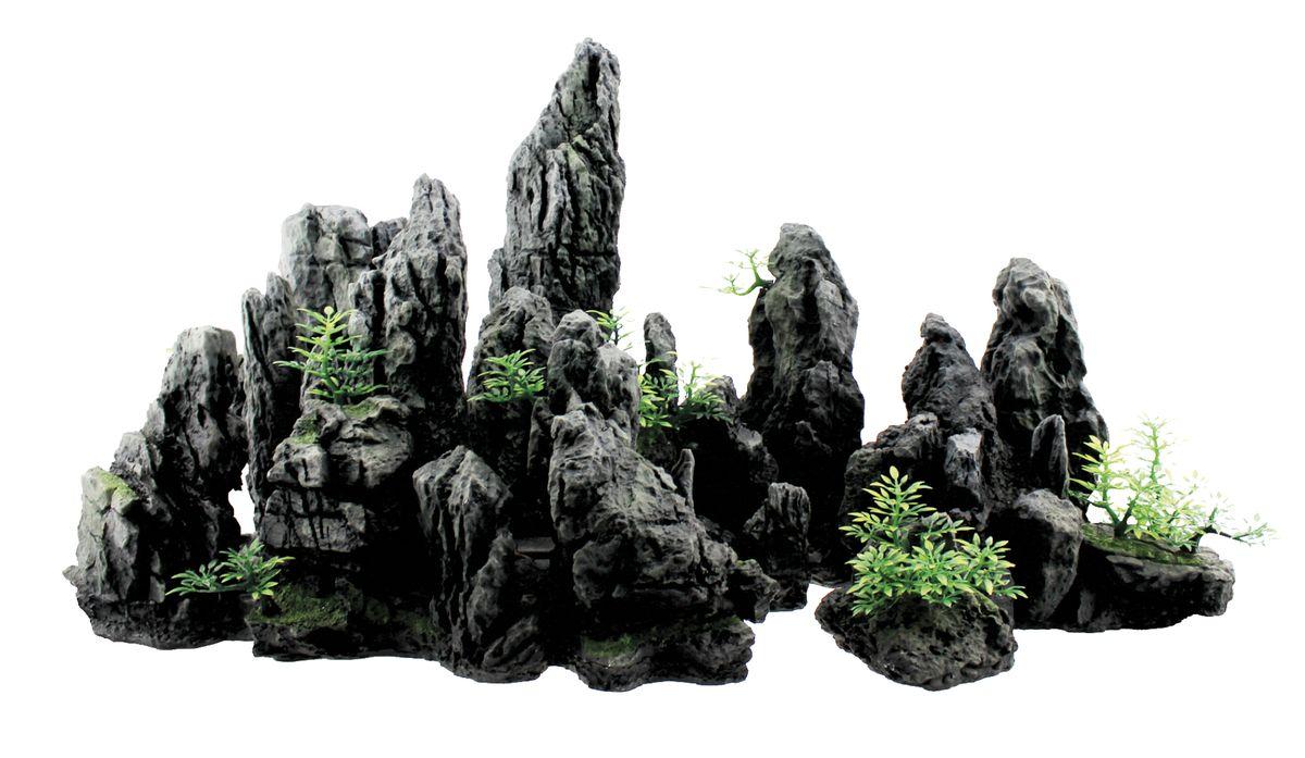 Декорация для аквариума ArtUniq Крутые серые скалы, 70 x 29 x 37 смART-3116030Декорация для аквариума ArtUniq Крутые серые скалы, 70 x 29 x 37 см