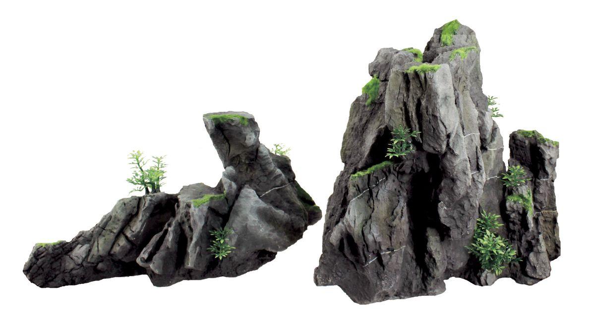 Декорация для аквариума ArtUniq Серые скалы, 47 x 18,7 x 24,8 смART-3116120Декорация для аквариума ArtUniq Серые скалы, 47 x 18,7 x 24,8 см