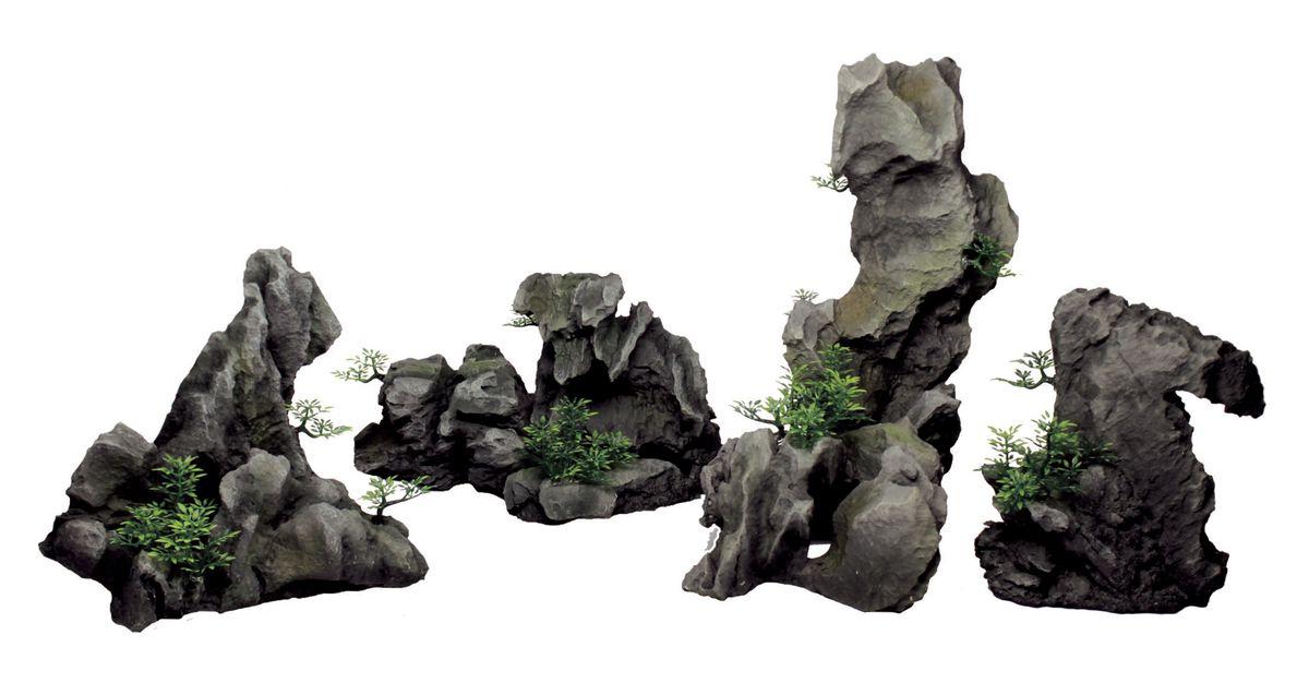 Декорация для аквариума ArtUniq Серые скалы, 30,1 x 22,5 x 27 смART-3116130Декорация для аквариума ArtUniq Серые скалы, 30,1 x 22,5 x 27 см