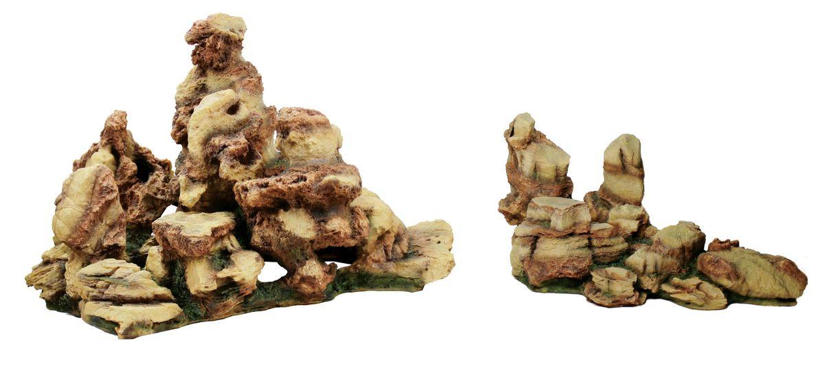 Декорация для аквариума ArtUniq Пестрые скалы, 65 x 45,5 x 42,1 смART-3116150Декорация для аквариума ArtUniq Пестрые скалы, 65 x 45,5 x 42,1 см