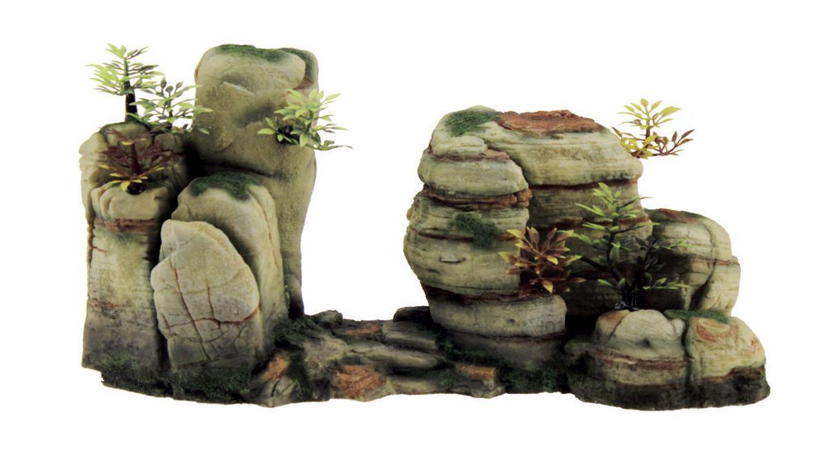 Декорация для аквариума ArtUniq Горный обрыв, 33,7 x 12,5 x 17 смART-3116240Декорация для аквариума ArtUniq Горный обрыв, 33,7 x 12,5 x 17 см