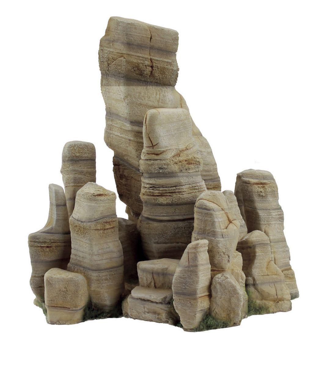 Декорация для аквариума ArtUniq Обтесанные скалы, 28,3 x 19,5 x 30 смART-3116300Декорация для аквариума ArtUniq Обтесанные скалы, 28,3 x 19,5 x 30 см