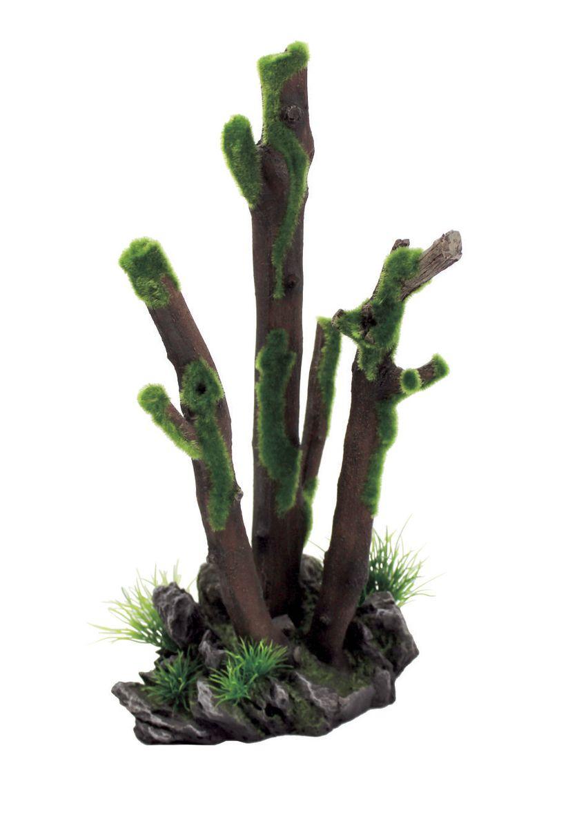 Декорация для аквариума ArtUniq Ветви во мху, 20,5 x 17,3 x 37,5 смART-3116390Декорация для аквариума ArtUniq Ветви во мху, 20,5 x 17,3 x 37,5 см