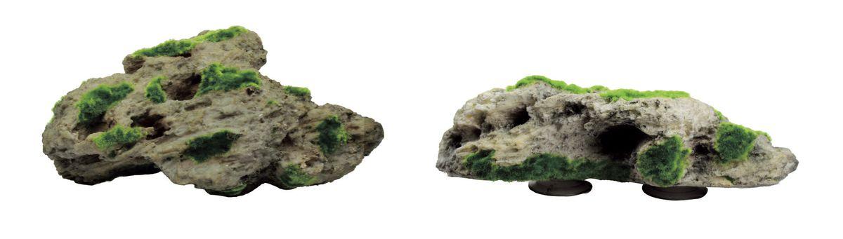 Набор декораций для аквариума ArtUniq Камни со мхом на присоске, 34 x 19 x 10,5 смART-3116420Набор декораций для аквариума ArtUniq Камни со мхом на присоске, 34 x 19 x 10,5 см
