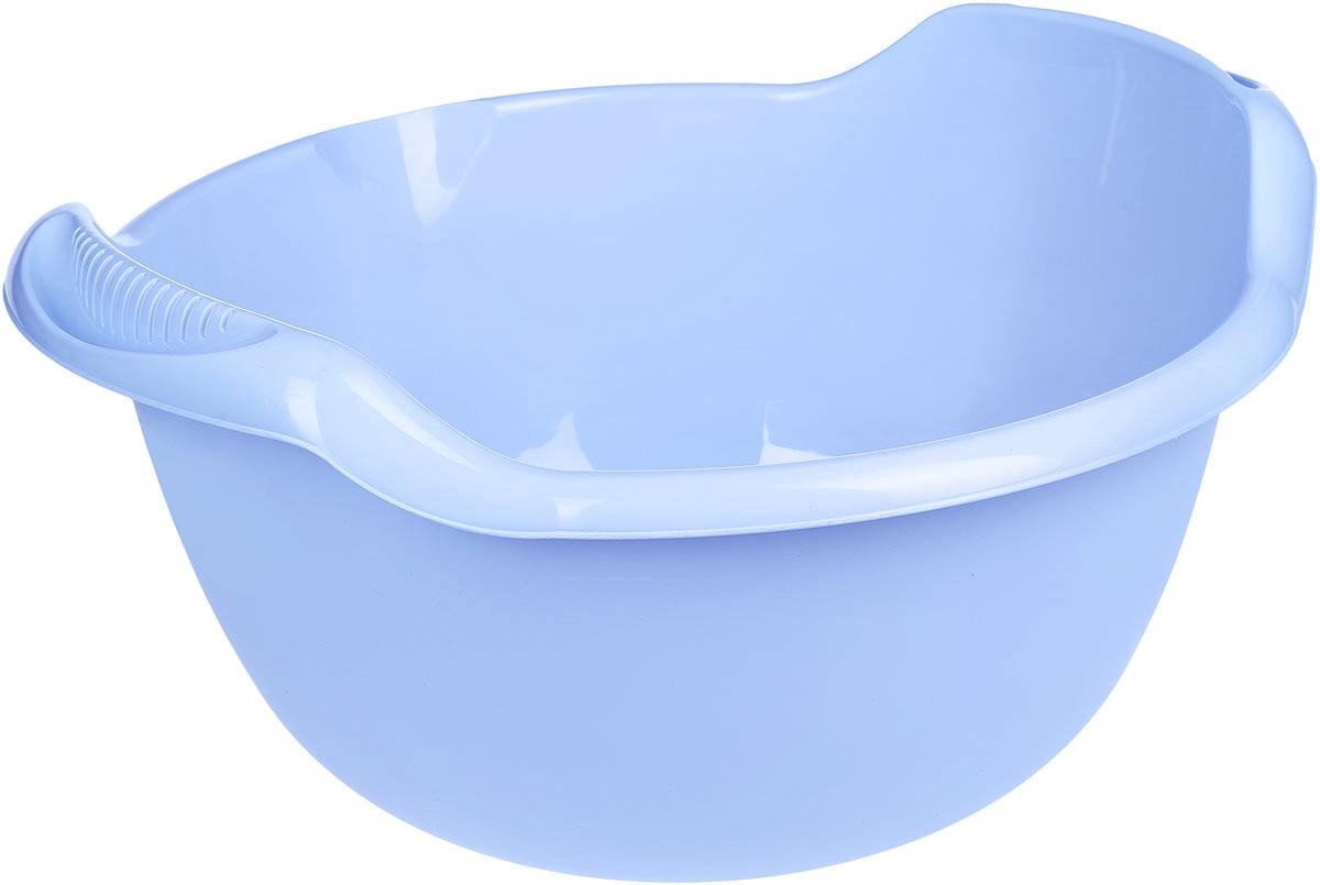 Таз Idea, с ручками, цвет: голубой, 24 лМ 2508Таз Idea выполнен из прочного пластика. Он предназначен для стирки и хранения разных вещей. Также в нем можно мыть фрукты. Для удобства таз снабжен двумя ручками. Такой таз пригодится в любом хозяйстве. Размер таза: 47 х 51 х 26 см.