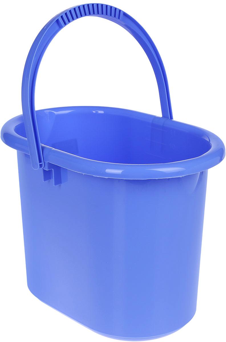 Ведро хозяйственное Idea, овальное, цвет: сиреневый, 11 лМ 2422Ведро Idea изготовлено из высококачественного прочного полипропилена. Оно легче железного и не подвержено коррозии. Изделие универсально, его можно использовать в качестве ведра для мыться полов, а также в качестве мусорного ведра. Ведро оснащено удобной пластиковой ручкой для переноски. Внутри имеется мерная шкала. Такое ведро станет незаменимым помощником в хозяйстве. Размер (по верхнему краю): 33 х 23,5 см. Высота: 26,5 см.