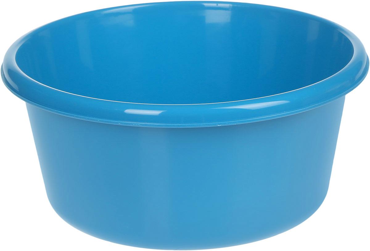 Таз Idea, круглый, цвет: бирюзовый, 6 лМ 2511Таз Idea выполнен из прочного пластика. Он предназначен для стирки и хранения разных вещей. Также в нем можно мыть фрукты. Такой таз пригодится в любом хозяйстве. Диаметр таза (по верхнему краю): 26,5 см. Высота стенки: 13 см.
