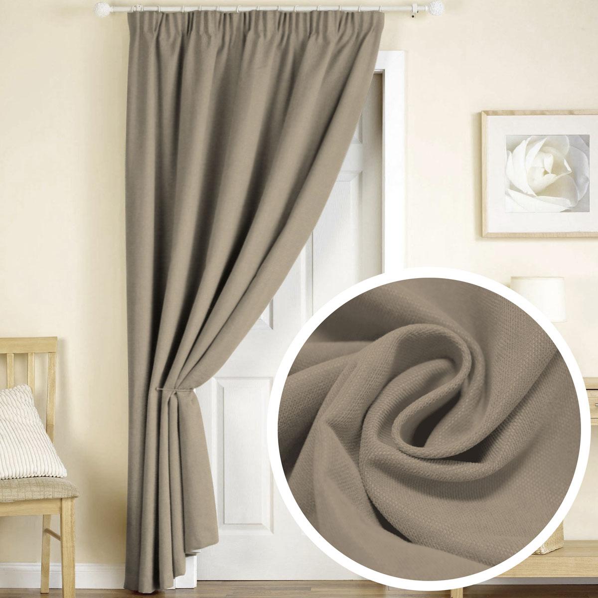 Штора Amore Mio, на ленте, цвет: молочно-коричневый, высота 270 см77617Готовая штора Amore Mio - это роскошная портьера для яркого и стильного оформления окон и создания особенной уютной атмосферы. Она великолепно смотрится как одна, так и в паре, в комбинации с нежной тюлевой занавеской, собранная на подхваты и свободно ниспадающая естественными складками. Такая штора, изготовленная полностью из прочного и очень практичного полиэстера, долговечна и не боится стирок, не сминается, не теряет своего блеска и яркости красок.