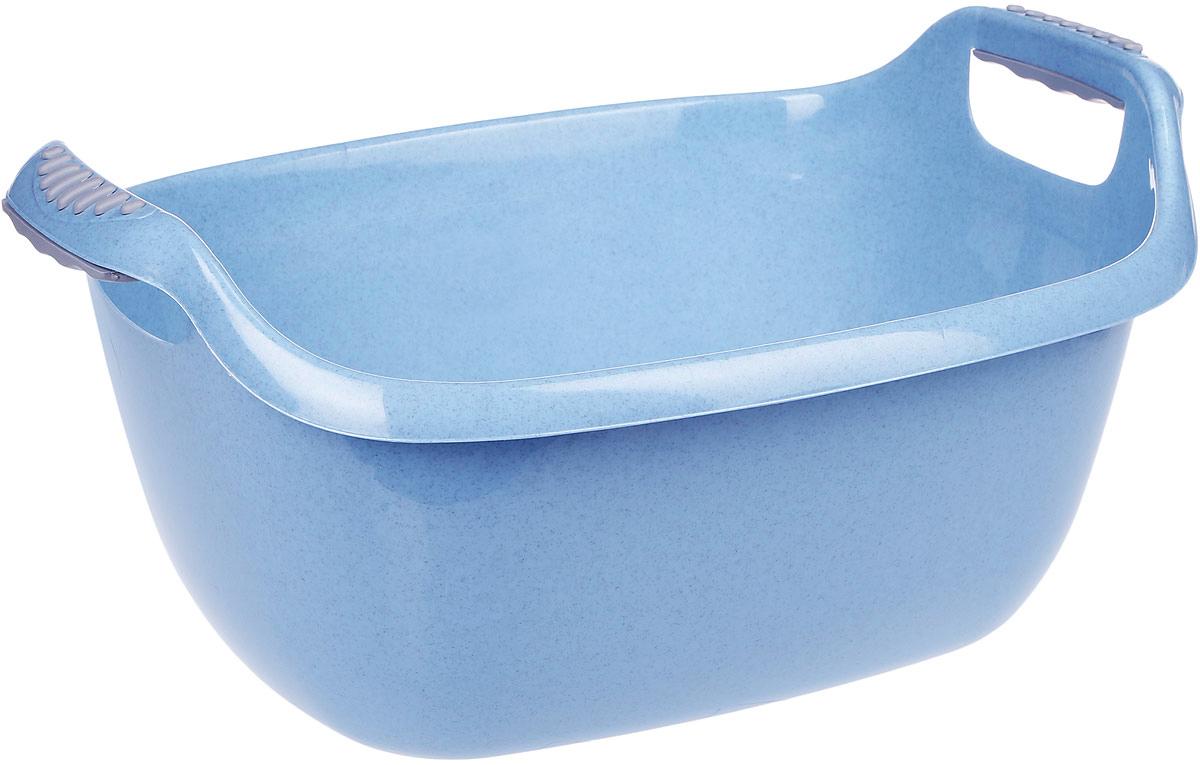 Таз Idea, овальный, цвет: голубой, 16 лМ 2545Овальный таз Idea изготовлен из высококачественного полипропилена и эластана. Таз устойчив к ударным нагрузкам. Вогнутая форма на боковой поверхности таза дает дополнительную жесткость и прочность. Удобно выполненная конструкция ручки позволяет с комфортом переносить содержимое. Он предназначен для замачивания и стирки белья. Таз пригодится в любом хозяйстве. Размер: 49 х 36 х 24 см.