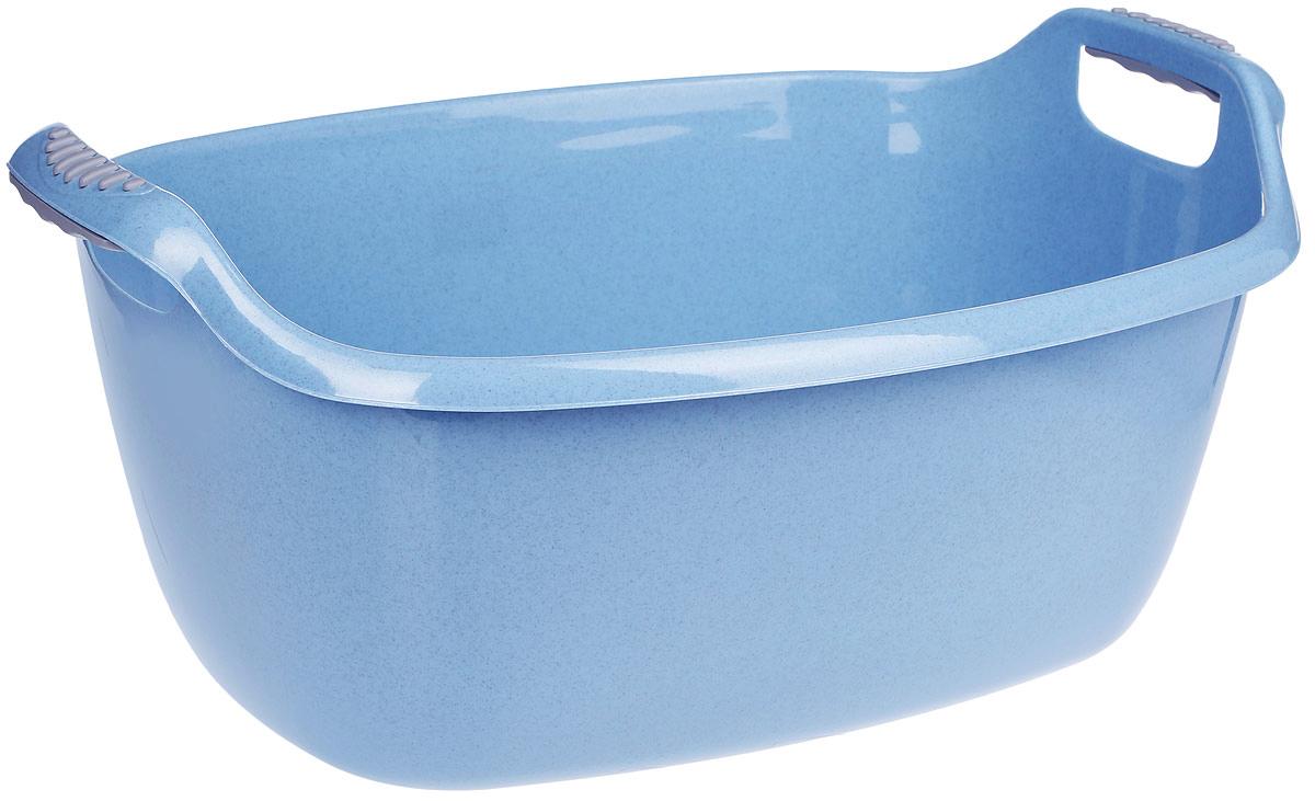 Таз Idea, овальный, цвет: голубой, 30 лМ 2547Овальный таз Idea изготовлен из высококачественного полипропилена и эластана. Таз устойчив к ударным нагрузкам. Вогнутая форма на боковой поверхности таза дает дополнительную жесткость и прочность. Удобно выполненная конструкция ручки позволяет с комфортом переносить содержимое. Он предназначен для замачивания и стирки белья. Таз пригодится в любом хозяйстве. Размер: 61 см х 43 см х 28 см.