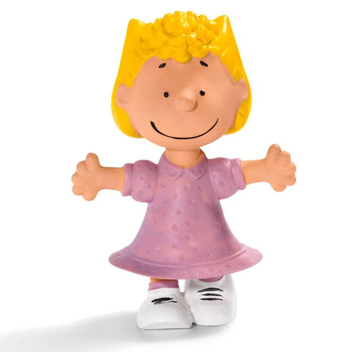 Schleich Фигурка Салли22009Очаровательная фигурка Салли от знаменитого немецкого производителя Schleich придется по душе вашему ребенку! Внешность Салли приведена в соответствие с внешностью этого персонажа в комиксах. Когда Линус рядом, Салли всегда улыбается. Конечно, он не всегда замечает ее, но по крайней мере они находятся в одной комнате. А если бы он когда-нибудь пошел с ней на прогулку, Салли была бы на седьмом небе от счастья! Новые фигурки животных и вымышленных персонажей от Schleich обязательно порадуют всех любителей знаменитого мультфильма и разнообразят игру вашего ребенка. Прекрасно выполненные фигурки Шляйх отличаются высочайшим качеством игрушек ручной работы. Каждая фигурка разработана с учетом исследований в области педагогики и производится как настоящее произведение для маленьких детских ручек. Сюжетно-ролевые игры с фигурками развивают фантазию и воображение ребенка. Размер фигурки: 2,3х3,8х5 см.